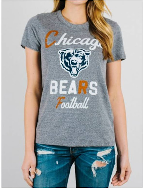 Junk Food NFL Chicago Bears Tee