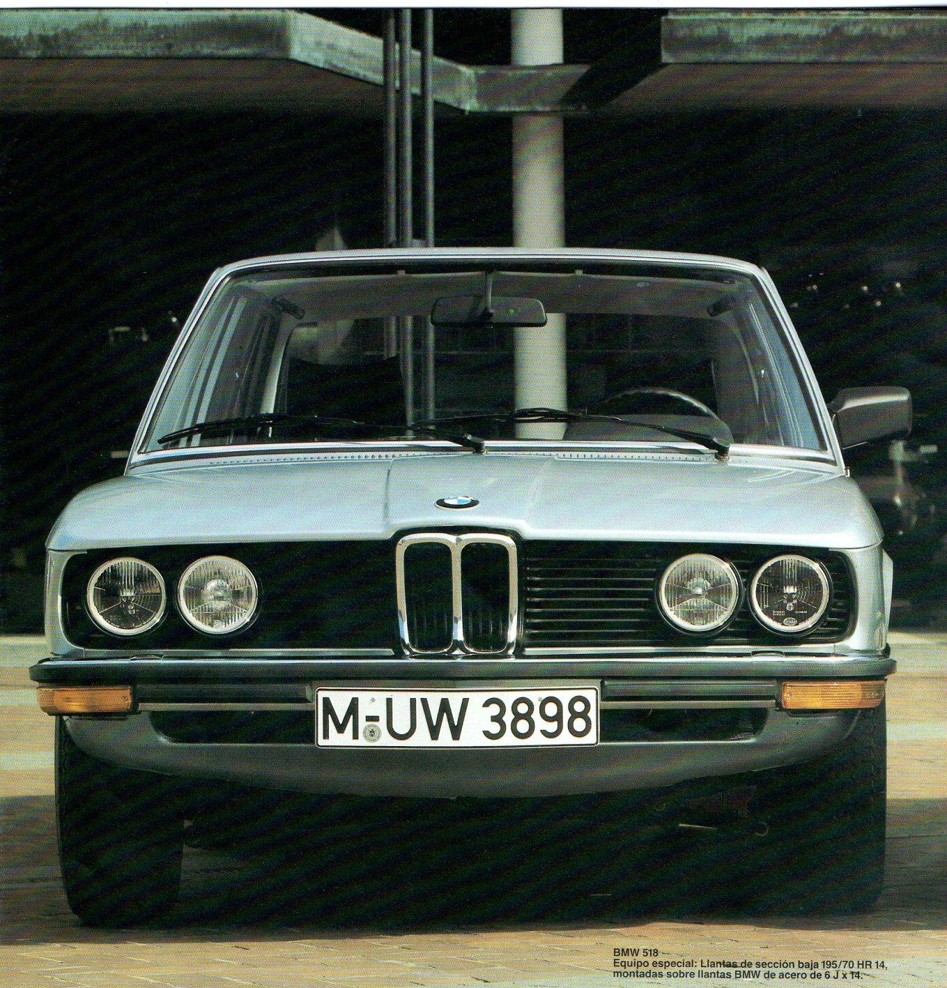 Archivo De Autos La Serie 500 Bmw Light Sensorldr Ofalightsensorcircuitwhenthelight Symbol3sir 518 Modelo 1980 Con Llantas Seccin Baja 195 70 Hr 14 Acero 6j X Como Opcionales