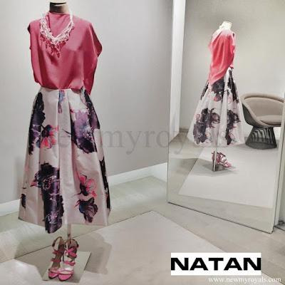 Queen Maxima wore NATAN Dress