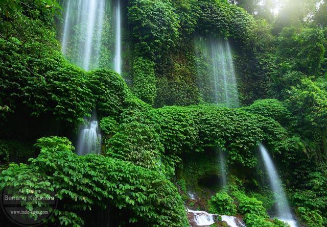 Air Terjun Benang Kelambu Lombok Nusa Tenggara Barat