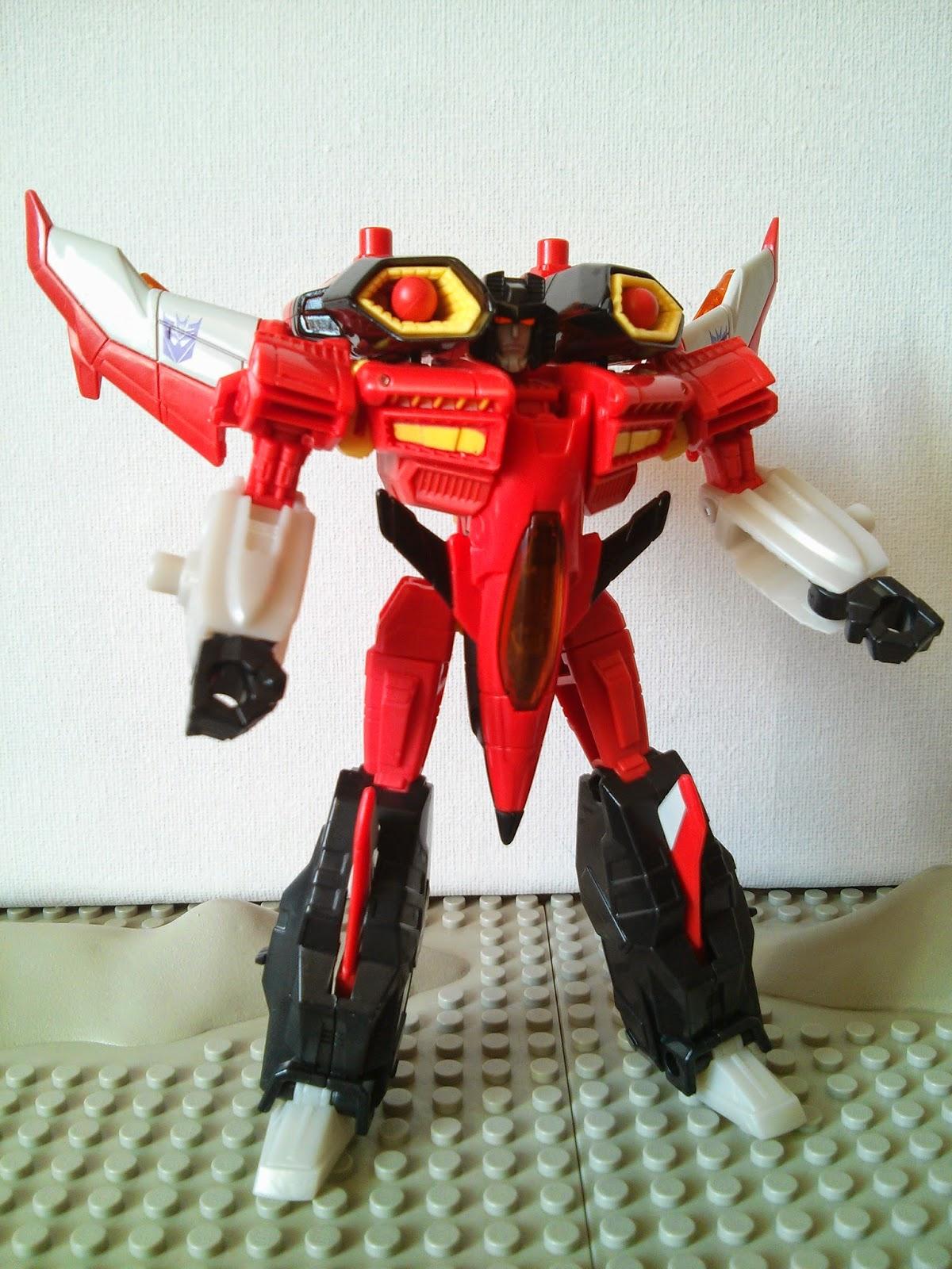 the robot mode of armada starscream