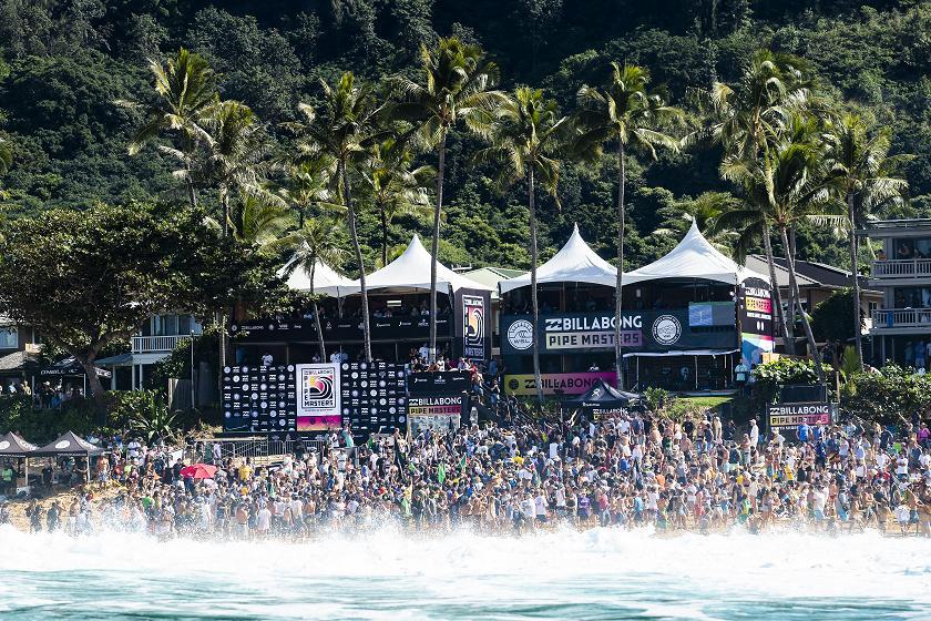 Surfing s Biggest Six Weeks The Vans Triple Crown of Surfing