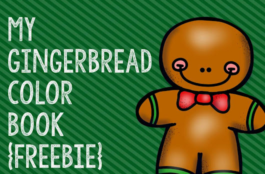 My Gingerbread Color Book