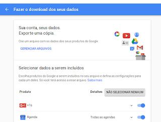 Excluindo arquivos do Google Drive