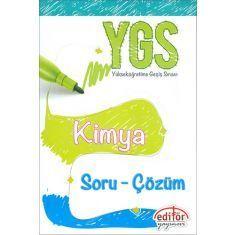 Editör YGS Kimya Soru - Çözüm (2017)