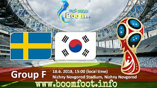 مشاهدة مباراة السويد و كوريا الجنوبية بث مباشر كورة لايف يلا شوت | كأس العالم روسيا 2018 مباشر