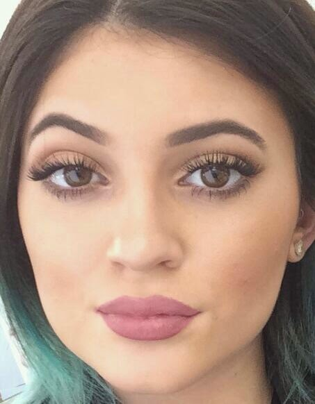Eyes Kylie Cosmetics: Shimmering Image: Kylie Jenner Lip Trend: Three Takes On