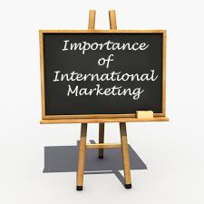 MBA Notes - Importance of International Marketing