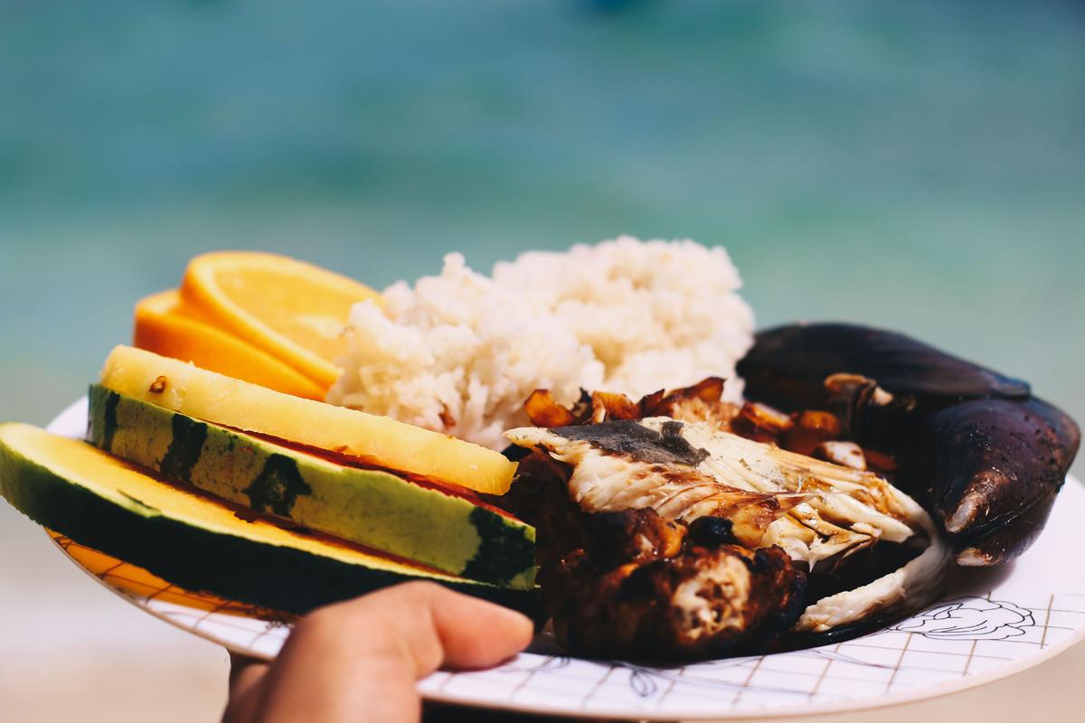 photo of food in El Nido