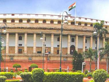 The update of Monsoon Session of Parliament vacant position...