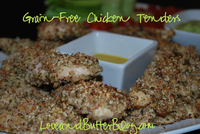 Grain-Free Chicken Tenders recipe from Love and Butter Blog