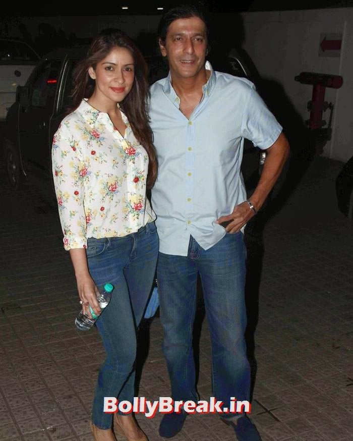 Bhavna Pandey, Chunky Pandey, Pics from 'Finding Fanny' Movie Screening