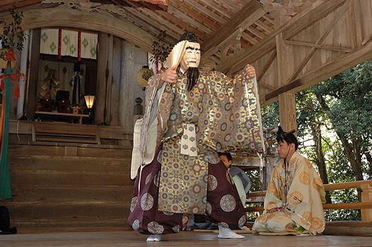 En Nen Sai (Festival to pray Long Life) at Urashima Shrine, Ine Town, Kyoto