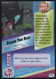MLP Stealing Your Heart Series 4 Trading Card