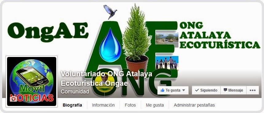 https://www.facebook.com/pages/Voluntariado-ONG-Atalaya-Ecoturística-Ongae/319750021508960