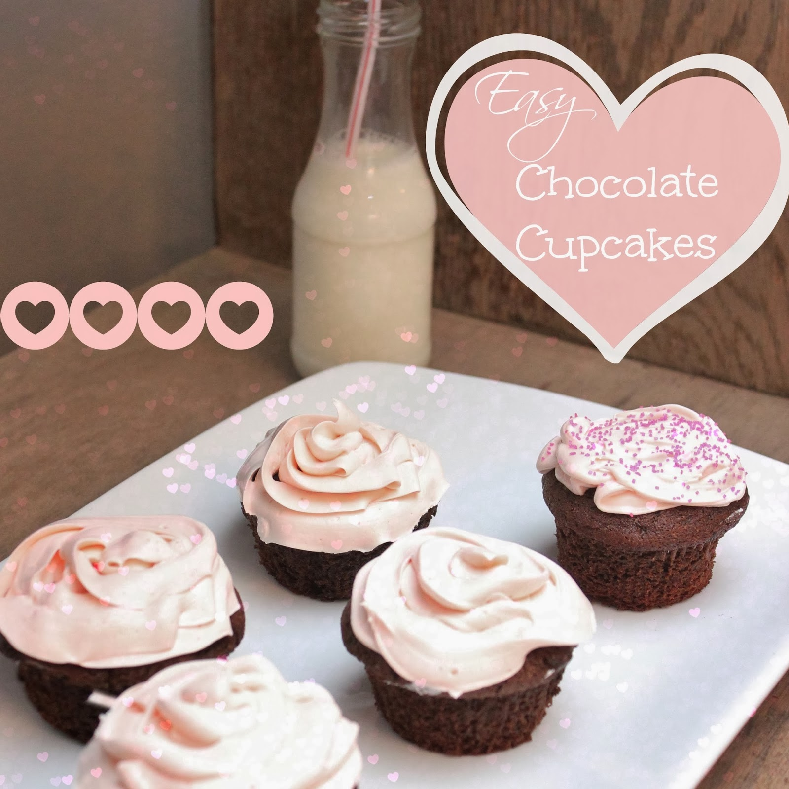 easy low calorie chocolate cupcakes from scratch