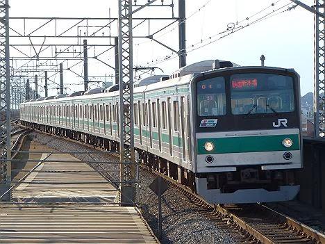 埼京線 快速 新木場行き1 205系