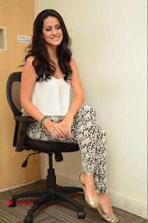 Actress Larissa Bonesi Stills At Radio City For Thikka Movie Promotions  0153.JPG