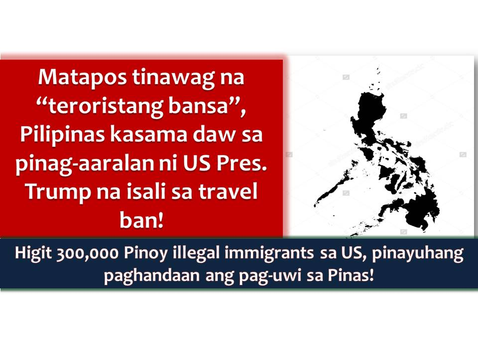 Southern Philippines Next In Trump S Travel Ban