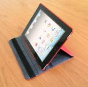 cover ipad rossa