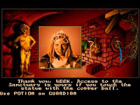 Pantallazo Videojuego Ween - The Prophecy