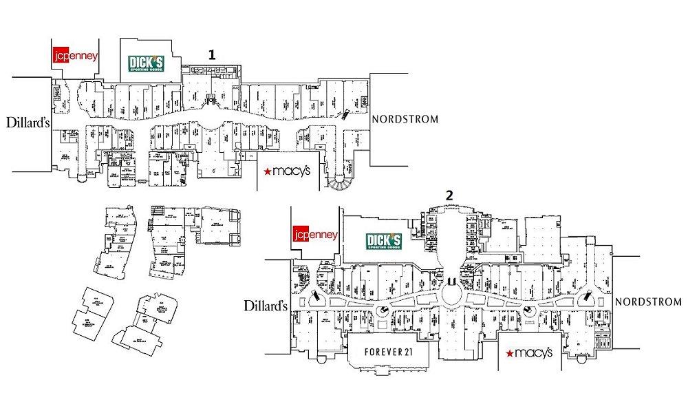 Park Meadows Mall Map The Mallmanac: All Mallmanac   Park Meadows Mall, Lone Tree, CO Park Meadows Mall Map