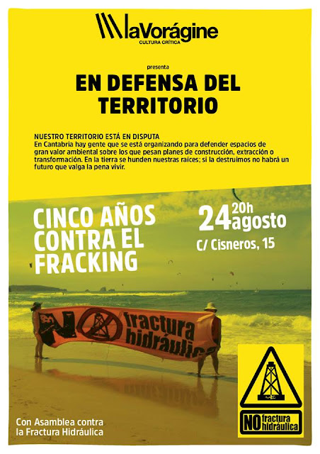 La defensa del territorio: Cinco a�os contra el fracking