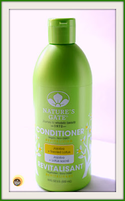 Review of Nature's Gate Jojoba & Sacred Lotus Revitalizing Conditioner for dry, damaged, brittle hair, NBAM Photography