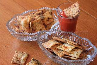 Рецепти за домашни крекери