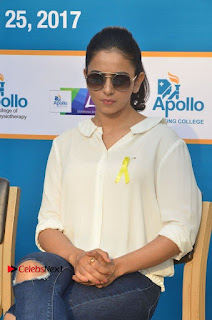 Actress Rakul Preet Singh at Endometriosis Awareness Walk at Apollo Cradle  0071.jpg