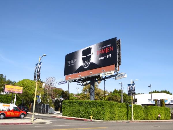 Damien TV series billboard