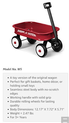 Radio Flyer Little Red Toy Wagon - Description