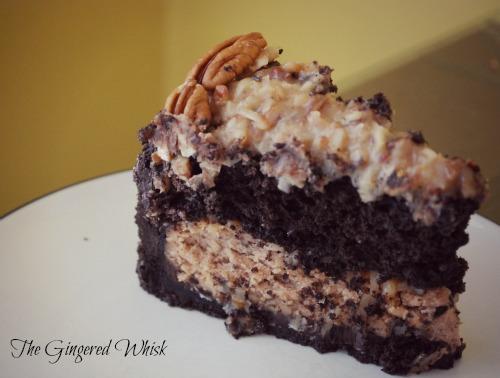 German Chocolate Cheesecake!!!