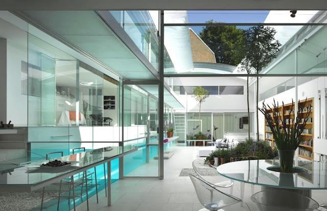 Noir blanc un style for Architecte italien contemporain