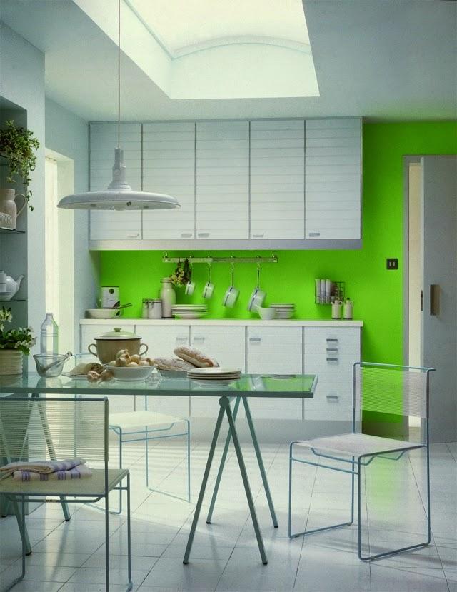 Diseño de cocina con comedor