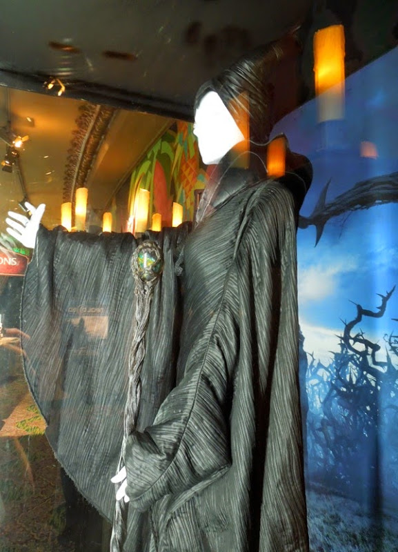Disney Maleficent movie costume detail