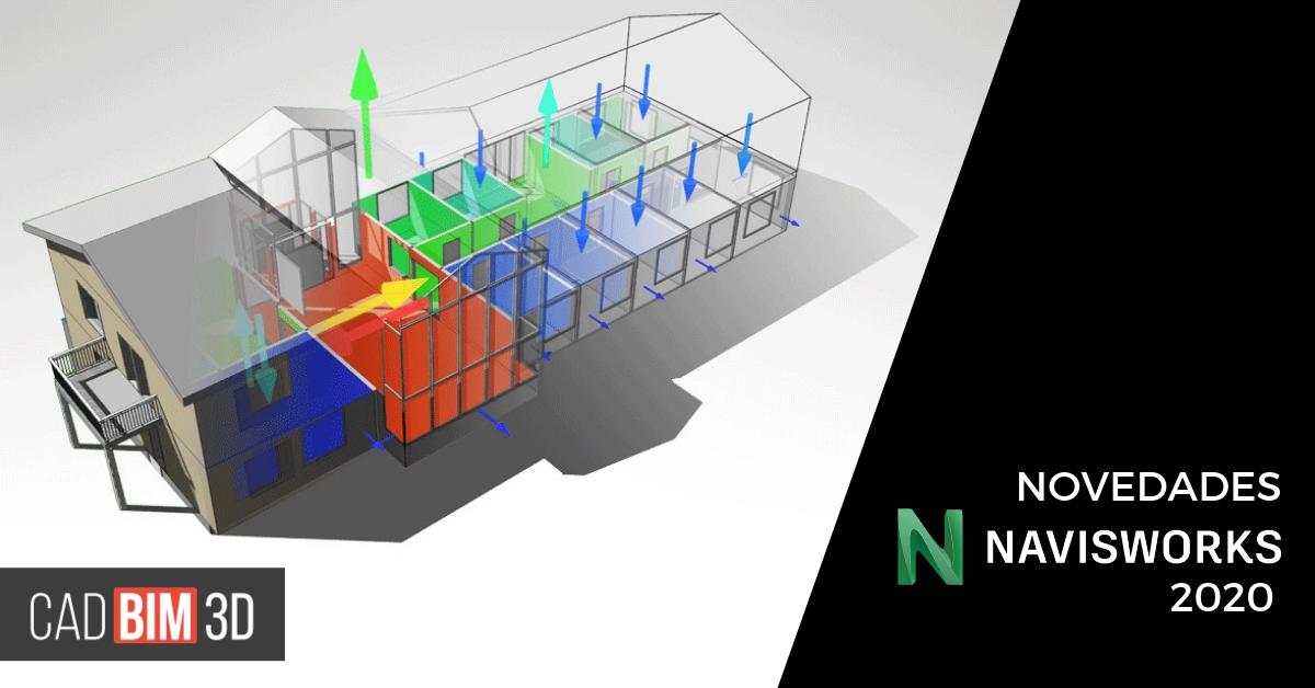Novedades de Navisworks 2020