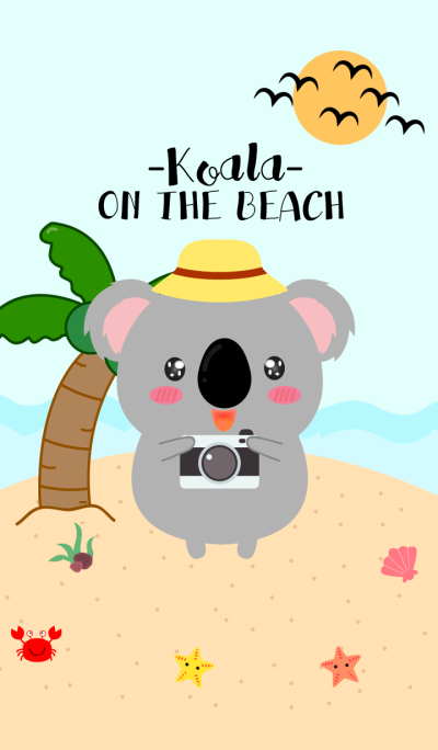 Koala On The Beach Theme