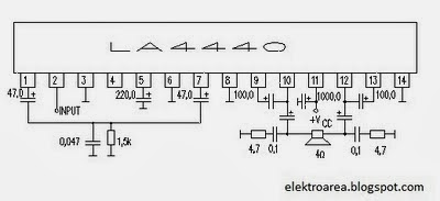 Power Amplifier Ic La4440 : electronic circuit diagrams la4440 ic amplifier ~ Russianpoet.info Haus und Dekorationen