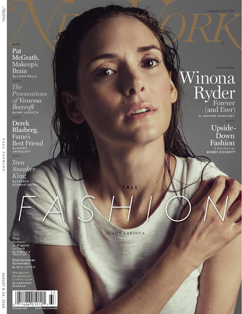Actress, @ Winona Ryder Stars in New York Magazine Fall Fashion Issue