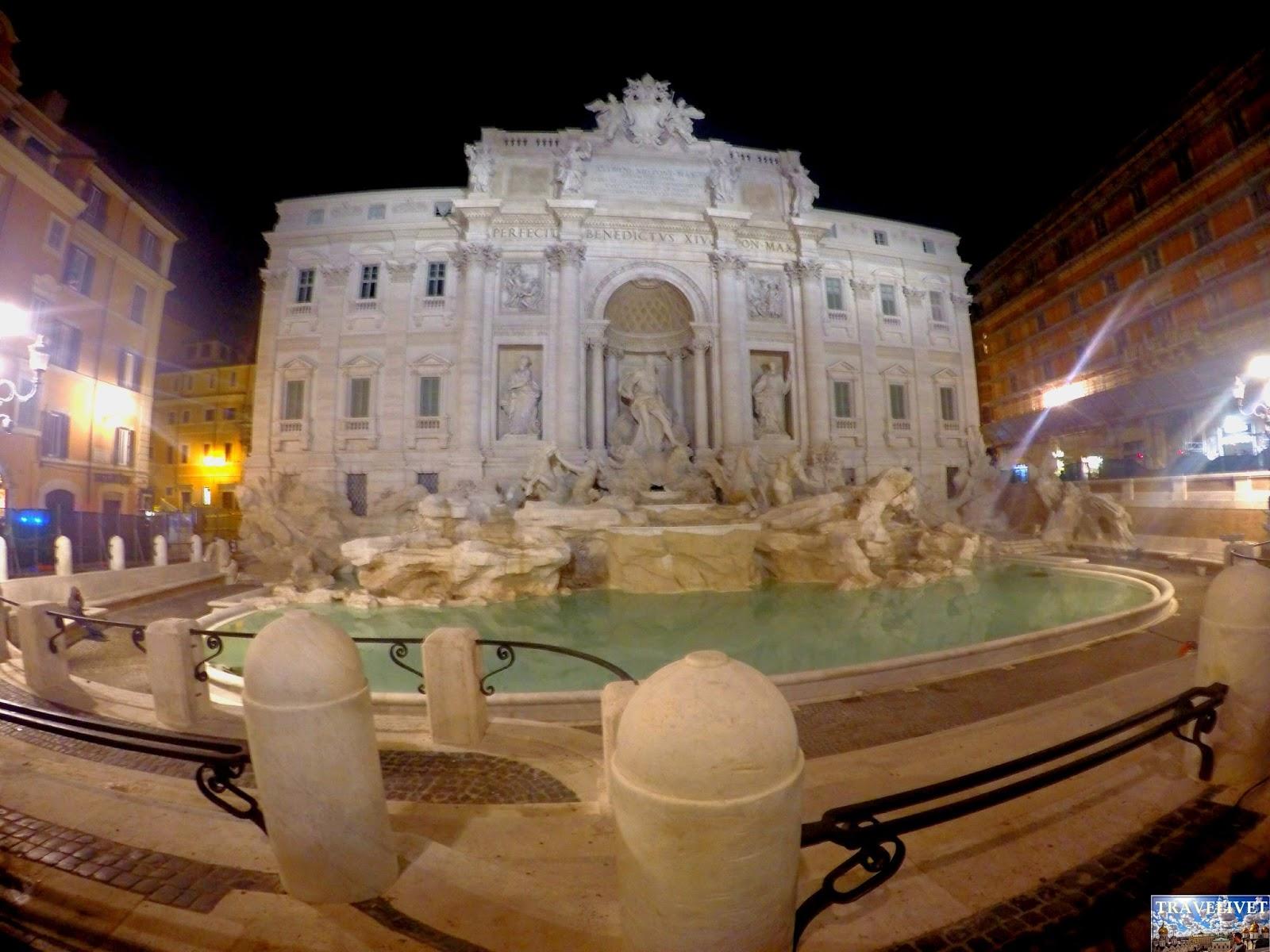 Italie Rome Fontaine de Trevi