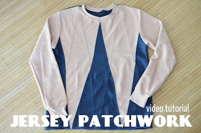 Video tutorial Jersey Patchwork