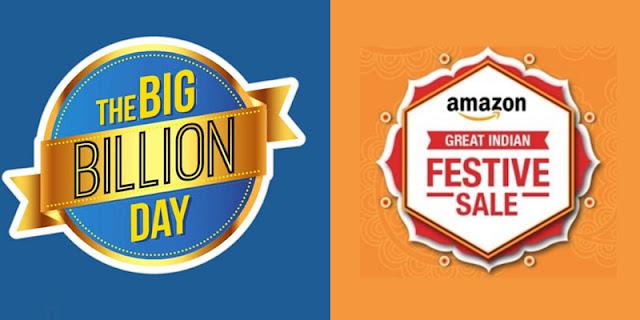 the big billion sale v s  great indian sale