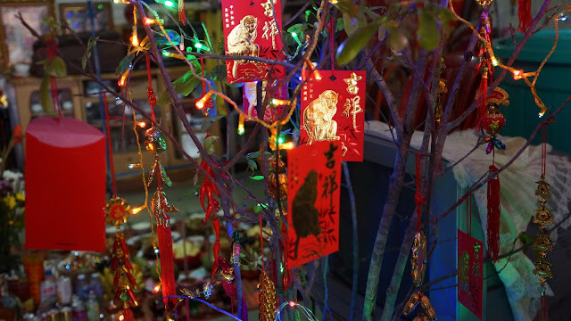 Nouvel An Chinois à Phom Penh, dans les foyers. Photo C.Gargiulo +855 87 261 019