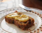 Irish Spiced Fruitcake with Brown Sugar Lemon Curd
