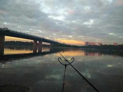 Рыбалка у метромоста отчёт