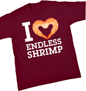 I Love Endless Shrimp T-shirt