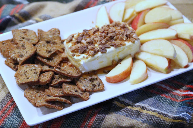 Caramel Apple Cream Cheese Spread - Harvest Night with doTERRA essential oils