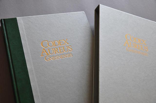 faksymile Złotego Kodeksu Gnieźnieńskiego