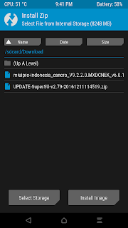 Tutorial Singkat Install SuperSU atau Root Smartphone Xiaomi Melalui TWRP